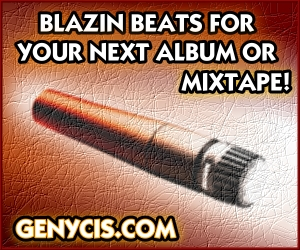 Blazin Beats For Your Next Album or Mixtape at Genycis.com