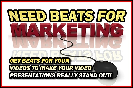 Need Hip Hop Beats For Marketing?  Get Beats For Your Videos To Make Your Business Video Presentations Really Stand Out!