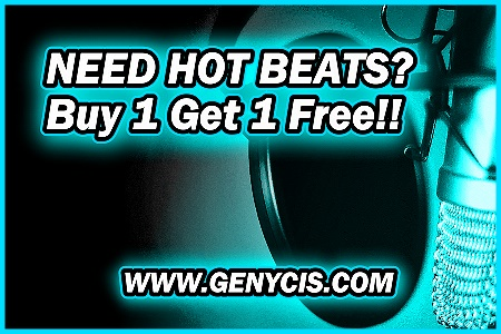 Need Hot Rap Beats For Sale?  Buy 1 Get 1 Free Today at Genycis.com!