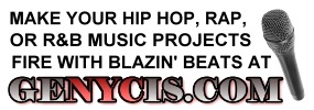 Make Your Hip Hop, Rap, or R&B Music Projects Fire With Blazin Beats At Genycis.com